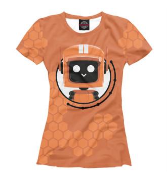 Женская Футболка Love death + robots K-VRC