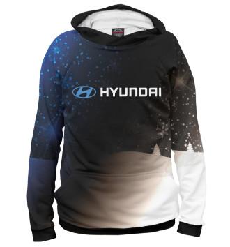 Мужское Худи Hyundai - Snow