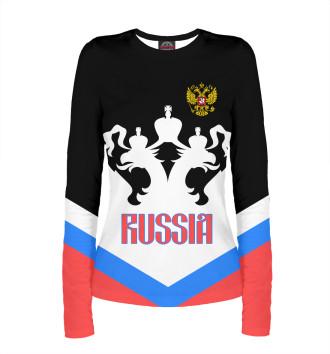 Женский Лонгслив Россия