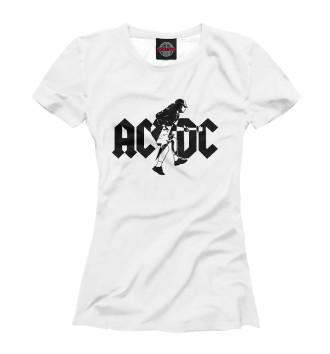 Футболка для девочек AC/DC