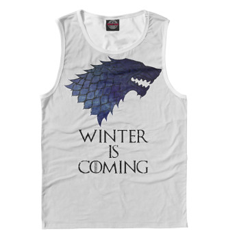 Мужская Майка Winter Is Coming