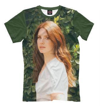 Мужская Футболка Lana Del Rey