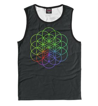 Мужская Майка Coldplay