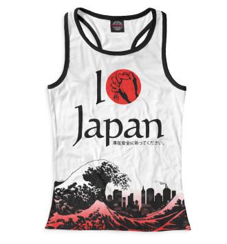 Женская Борцовка Pray for Japan