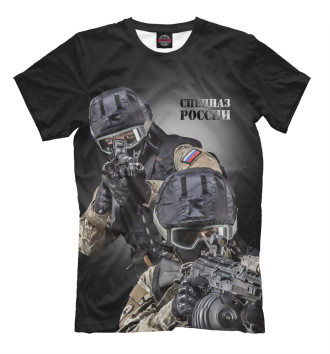 Мужская Футболка Спецназ России