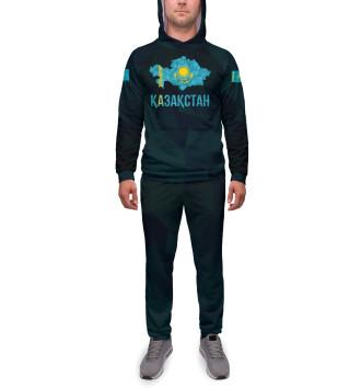 Мужской Спортивный костюм Kazakhstan