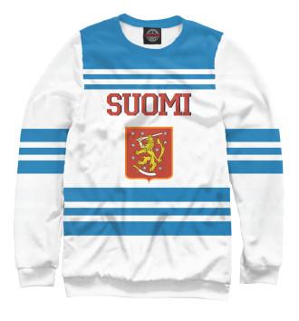 Мужской Свитшот Сборная Финляндии