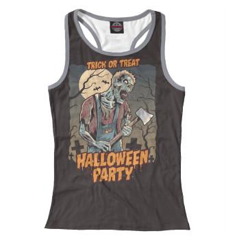 Женская Борцовка Halloween party
