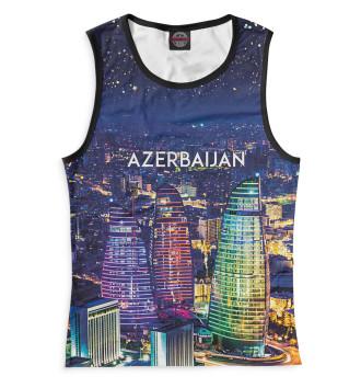 Женская Майка Азербайджан