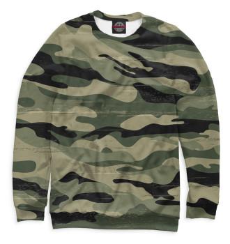 Мужской Свитшот Camouflage Green