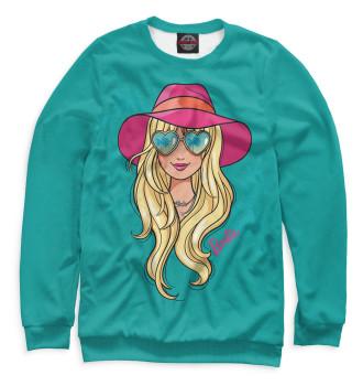 Женский Свитшот Barbie в шляпе