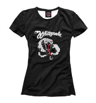 Женская Футболка Whitesnake