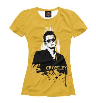 Женская Футболка Crowley
