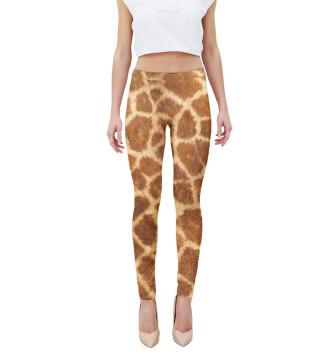 Женская Леггинсы Жираф