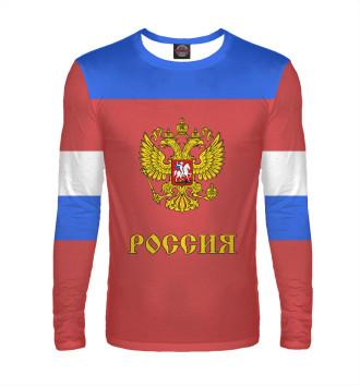 Мужской Лонгслив Сборная России по хоккею