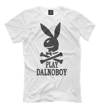 Мужская Футболка Play Dalnoboy