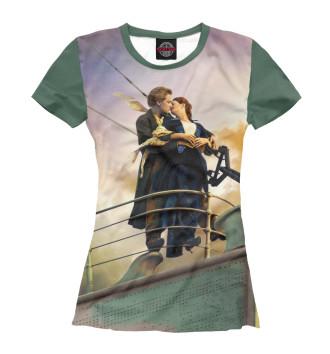 Женская Футболка Титаник