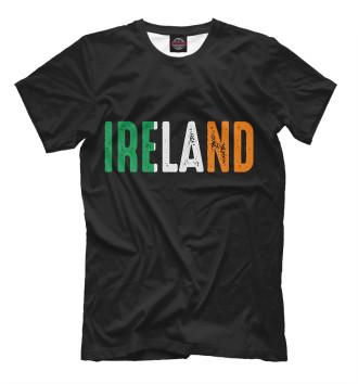Мужская Футболка IRELAND - ИРЛАНДИЯ