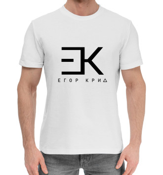 Мужская Хлопковая футболка Егор Крид