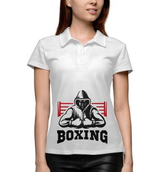 Женское Поло Boxing