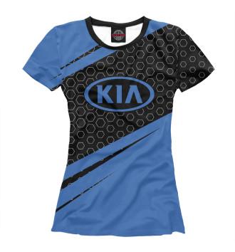 Женская Футболка KIA / Киа