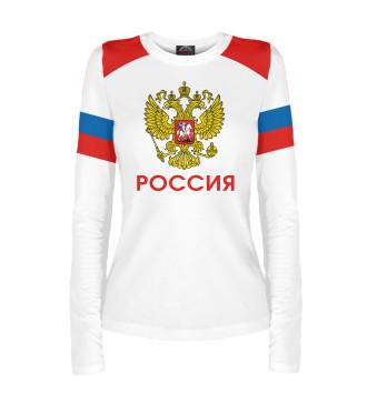 Женский Лонгслив Сборная России