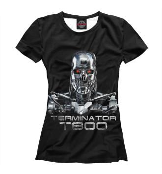 Женская Футболка Терминатор - Т800