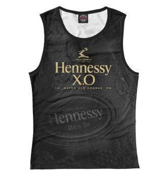 Женская Майка Hennessy X.O безалкогольный