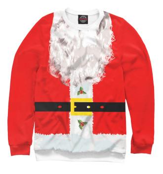 Мужской Свитшот Санта Клаус