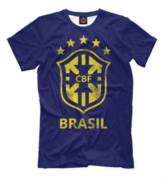 Мужская Футболка Бразилия