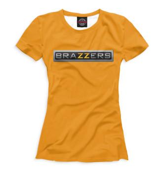 Женская Футболка Brazzers