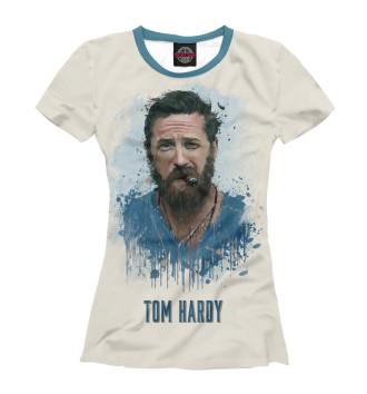 Женская Футболка Том Харди