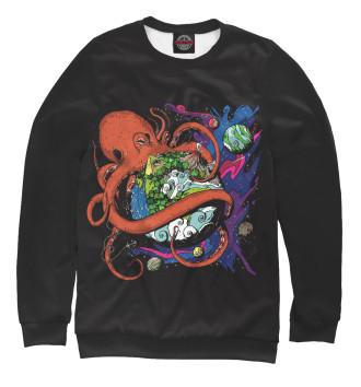 Мужской Свитшот Octopus World