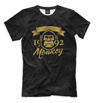 Мужская Футболка Год обезьяны — 1992