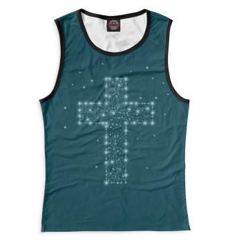 Женская Майка Крест