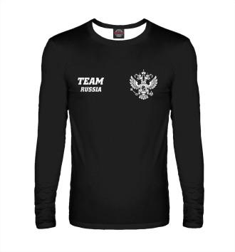 Мужской Лонгслив Team RUSSIA (двусторонняя)