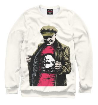 Женский Свитшот Ленин