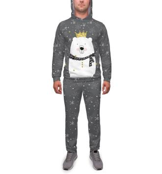 Мужской Спортивный костюм Белый медведь