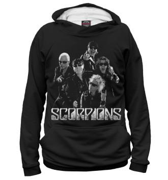 Мужское Худи Scorpions