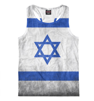 Мужская Борцовка Флаг Израиля
