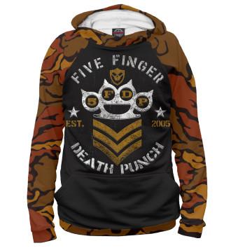 Мужское Худи Five Finger Death Punch