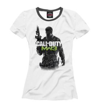 Женская Футболка Call of Duty