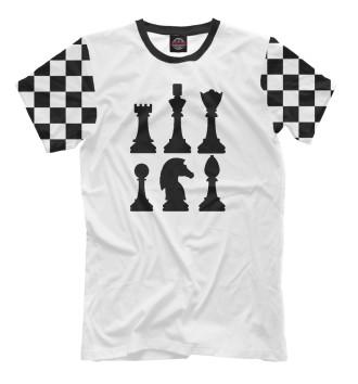 Мужская Футболка Chess