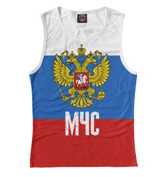 Женская Майка МЧС России