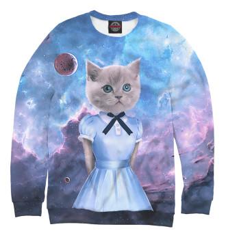 Женский Свитшот Коты в платьях