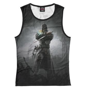 Женская Майка Dishonored: Corvo