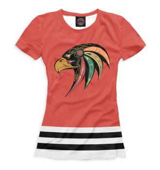 Женская Футболка Chicago Blackhawks