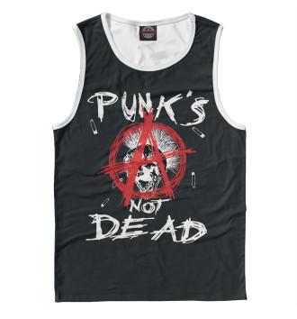 Мужская Майка Punk's Not Dead