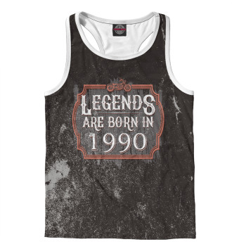 Мужская Борцовка Legends Are Born In 1990