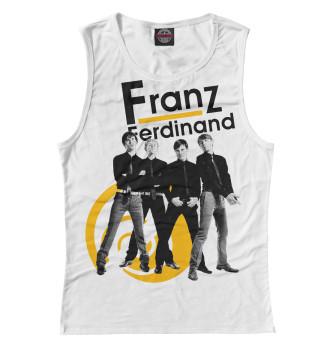 Женская Майка Franz Ferdinand